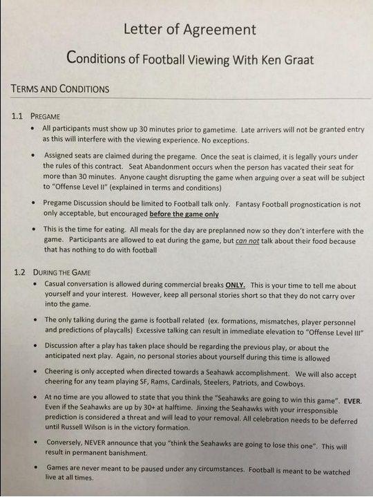 Rules To Watch A Seahawks Game 700 Espn Sports Radio Spokane Wa